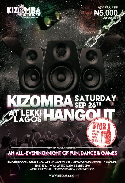 Kizomba Games & Dance Hangout @ Lekki (September 26, 2020)
